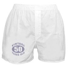 50th Birthday Gifts For Him Boxer Shorts