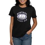 40th Birthday Gifts For Him Women's Dark T-Shirt