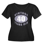 40th Birthday Gifts For Him Women's Plus Size Scoo