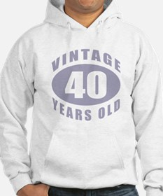 40th Birthday Gifts For Him Hoodie