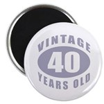 40th Birthday Gifts For Him Magnet