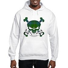 Johnston Tartan Skull Jumper Hoody