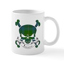 Johnston Tartan Skull Small Mug
