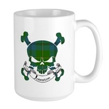 Johnston Tartan Skull Mug