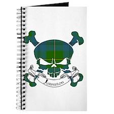 Johnston Tartan Skull Journal