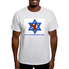 Jewish Soldier Foundation Ash Grey T-Shirt