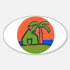 Gush Katif Lives Oval Decal