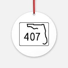 407 Ornament (Round)