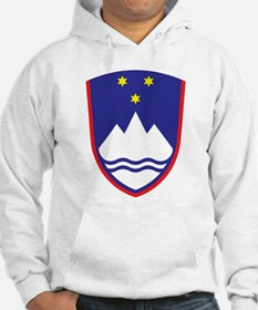 Slovenia Coat Of Arms Hoodie