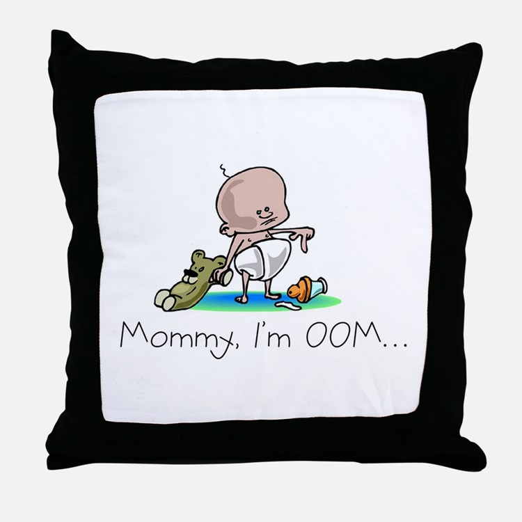 Out of Milk Design Throw Pillow