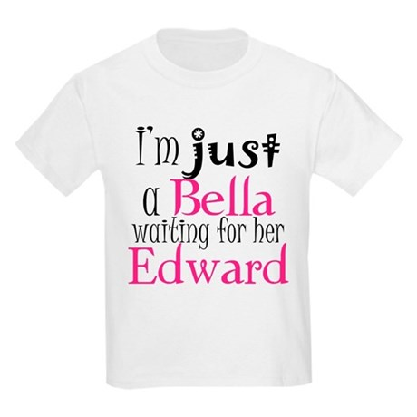 Bella Waiting For Edward Kids Light T-Shirt