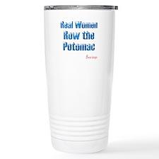 Real Women Row the Potomac Travel Mug