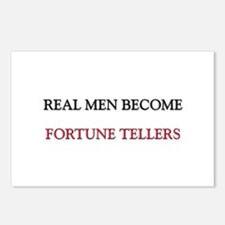 Real Men Become Fortune Tellers Postcards (Package