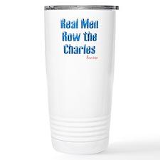 Real Men Row The Potomac Travel Mug