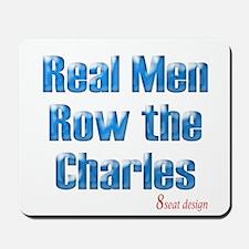 Real Men Row The Potomac Mousepad