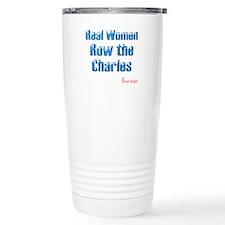 Real Women Row the Charles Travel Mug