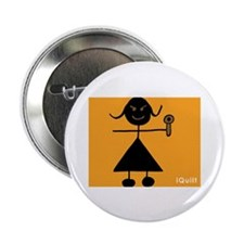 "iQuilt 2.25"" Button (10 pack)"
