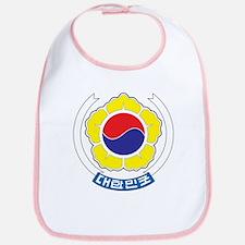 South Korea Coat Of Arms Bib