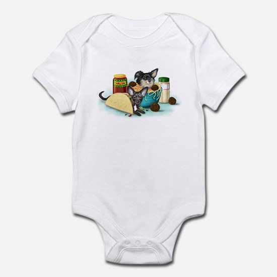 Taco-Paco & Meatball Chihuahu Infant Bodysuit