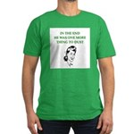 womens divorce joke Men's Fitted T-Shirt (dark)