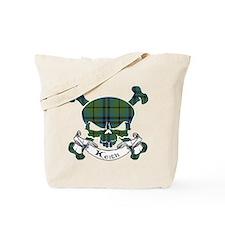 Keith Tartan Skull Tote Bag
