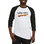 Christian/Darwin Fish Baseball Jersey