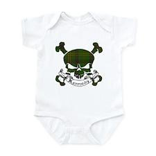 Kennedy Tartan Skull Infant Bodysuit