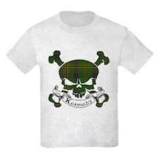 Kennedy Tartan Skull T-Shirt