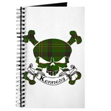 Kennedy Tartan Skull Journal