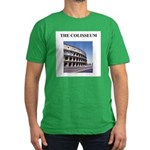 the colisseum rome italy gift Men's Fitted T-Shirt