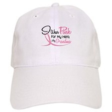 Pink For My Hero 3 GRANDMA Baseball Cap