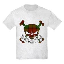 Kerr Tartan Skull T-Shirt