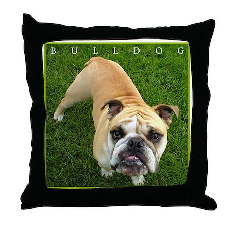 Bulldog Lover's Adorable Classic Throw Pillow