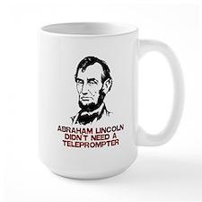 Abraham Lincoln Teleprompter Mug