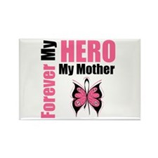BreastCancerHero Mother Rectangle Magnet