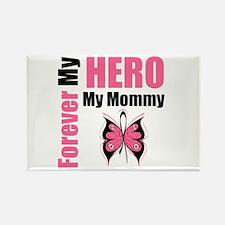 BreastCancerHero Mommy Rectangle Magnet