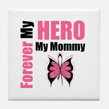 BreastCancerHero Mommy Tile Coaster