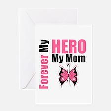 BreastCancerHero Mom Greeting Card