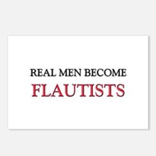 Real Men Become Flautists Postcards (Package of 8)