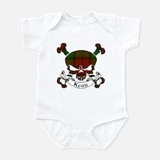 Kidd Tartan Skull Infant Bodysuit