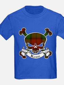 Kidd Tartan Skull T