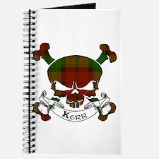 Kidd Tartan Skull Journal