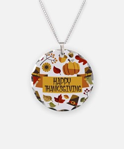 happy thanksgiving day! Necklace