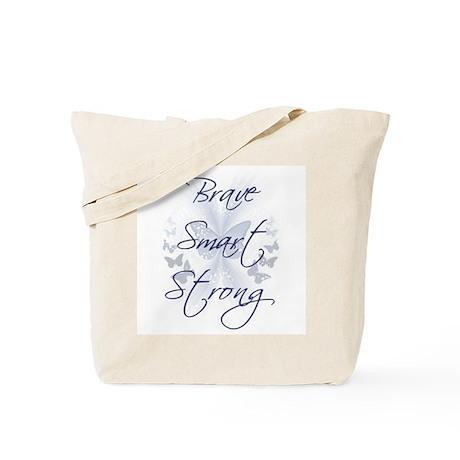 Brave Smart Strong Tote Bag