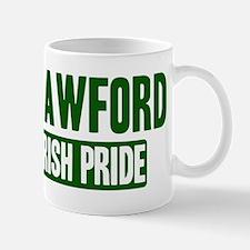 Crawford irish pride Small Mugs