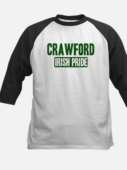 Crawford irish pride Kids Baseball Jersey