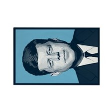 Cute John kennedy quotes Rectangle Magnet