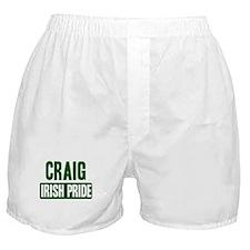 Craig irish pride Boxer Shorts