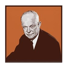 Cute Eisenhower Tile Coaster