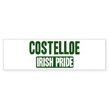 Costelloe irish pride Bumper Bumper Sticker